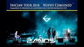 Inician tour 2018 ¨Nuevo Comienzo¨, Gamadeos se presenta en auditorio del centro recreativo SJF.